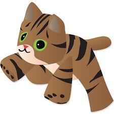 "Brown Tabby Kitten Large 96"" Long (Approx) - Special Kite Windsock.65. Pr 45949"