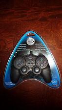 Datel PS21000D  Controller for Playstation 2 - Dark Gun Metal Grip NEW