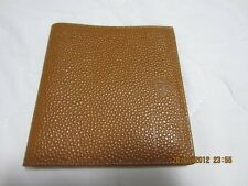 NOS NEW VINTAGE FENDI BROWN LEATHER 10 CC  BILLFOLD WALLET MADE IN ITALY