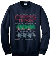 STRANGER THINGS UGLY CHRISTMAS JUMPER SWEATER
