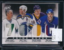 2012-13 Panini Prime Gordie Howe Brett Hull Dionne Gartner Game Used Patches /15