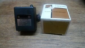 TI CHARGER AC9131 RARE 220 VOLT BATTERY CHARGER/ADAPTER NOS WORKS PERFECTLY!