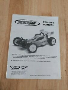Team Losi XXX4 Owners manual