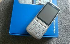 Nokia  C3-01 - Silber (ohne Simlock) Handy
