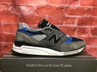 NEW BALANCE 998 MADE IN USA # M998NF 'FISHING' GREY BLUE BLACK MEN'S SIZES