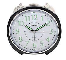 Casio TQ369-1D Bell Travel Desktop Alarm Clock Timer w Snooze Battery Black