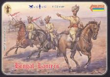 Strelets 1/72nd Plastic Colonial War Bengal Lancers Cavalry Set 57 NEW!