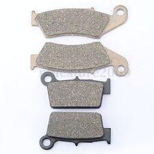 Brake Pads FOR HONDA CR125R CR250R CR500R CR 125 250 500 R 1995-2001 Front Rear