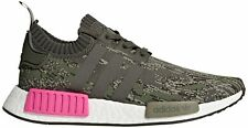 adidas Originals Men's NMD_R1 PK Running Shoe, Utility Grey/Shock Pink, 5.5 M US