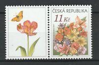 Czech Republic 2007 Flowers MNH stamp