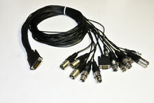 AJA Kona Breakout Cable XLR Version 8ch AES I/O Component Vid Out  Ref In  RS422
