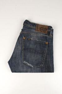 33753 Lee X-Line Ripley Bleu Foncé Hommes Short Taille 30/32