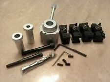 Precision Mini Quick Change Tool Post Amp Holders Set For Hobby Lathes 830m New