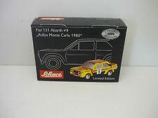 FIAT 131 ABARTH MONTE CARLO 1980 #9 SCHUCO PICCOLO 1/87 NEUF EN BOITE