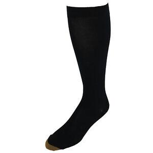 New Gold Toe Men's Mild Compression Over the Calf Compression Socks