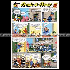 BENCO & Benoit Brisefer BD PEYO 1978 No Smurf Schtroumpf Pub Publicité Ad #A631