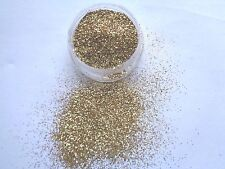 3G POT  GOLD ULTRA FINE  GLITTER NAIL ART/TIPS/ACRYLIC