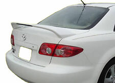 PAINTED MAZDA 6 FACTORY STYLE REAR WING SPOILER 2003-2008