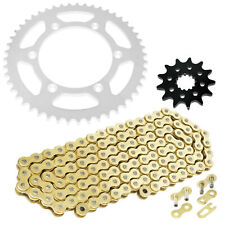 49 51 TOOTH BLACK REAR SPROCKET 48T 50 RENTHAL R1 CHAIN AND SPROCKET COMBO KIT YAMAHA YZ450F//YZ250 14T FRONT//48