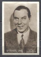 Karl Dane Vintage Trading Card London Caramel Works No.56