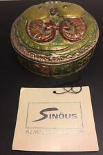 Sinous By Lam Lee Zodaic Box Dallas TX USA Designer Hand Finished Original Tag