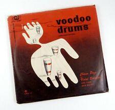 Rare 78s Set VOODOO DRUMS Pro-Arte SMC-5 Chano Pozo & Vidal Bolado Cuban Rumba