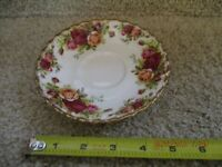 Royal Albert Old Country Roses Tea Saucer Porcelain Bone China England Coffee