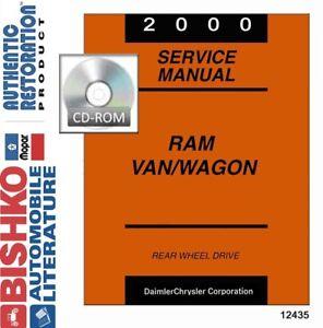 Service Repair Manuals For Dodge Ram 1500 Van For Sale Ebay