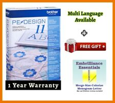 Brother PE Design 11 Sewing Software Embroidery ⭐ + Free GIFT ⭐ Full Version ⭐