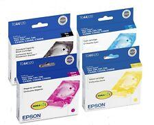 Genuine Epson 44 Ink Cartridge 4-Pack for Stylus C64 C66 CX4600 CX6400 CX6600