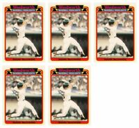 (5) 1989 Topps Woolworth Baseball Highlights #27 Mark McGwire Lot Athletics