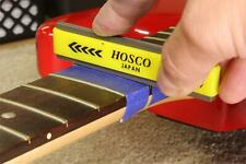 Hosco Compact Fret Crowning File for Medium Frets, coarse and fine cutting edges