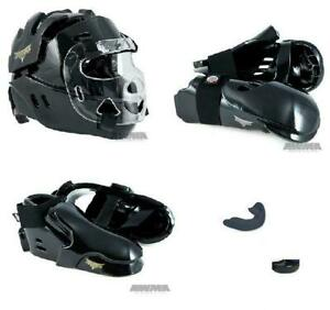 ProForce Thunder Sparring Gear Set Head/Shield Hand Foot Mouth Youth Adult TKD