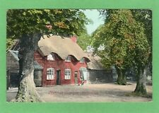Thatched Cottages Harpenden  pc used 1906  Ref G608