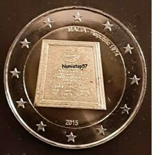 Pièce 2 € Commémorative - MALTE 2015 - Indépendance - NEUVE rouleau bancaire