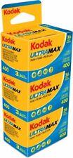 KODAK ULTRAMAX  400 ASA  135/36      9 Filme !!!!  MHD 08/2022