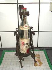 3 Liter 70er Asbach Uralt Voll € Kupfergeld Schwenker Ständer Flaschenständer