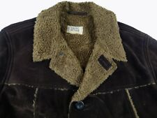 C240 CAMEL ACTIVE luxury faux sheepskin suede warm jacket size 54(?), excellent!