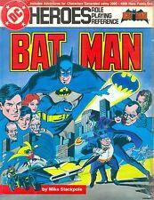 JDR RPG JEU DE ROLE / DC HEROES RPG BATMAN