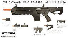 CSI Airsoft S.T.A.R. XR-5 FG-1503 Black Advanced Battle Rifle AEG Space M4 STAR