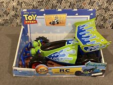 "RC Toy Car Disney Pixar Toy Story 14"" Thinkway Toys"