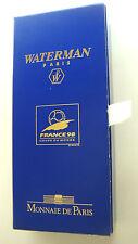 stylo bille WATERMAN Hémisphere +piece argent collector Coupe du monde 1998