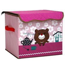 Kinder Aufbewahrungsbox Spielzeugkiste Truhe Faltbox Stofftruhe Behälter Packung