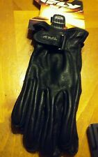 Fly Racing Ladies I-84 Leather Gloves Black XL #5884 476-6010~5