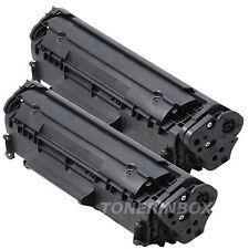 2 Pk Q2612A Compatible Toner For 12A LaserJet 1010 1012 1015 1018 1020 1022 3015