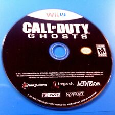 Call of Duty: Ghosts (Nintendo Wii U, 2013) Disc Only # 17