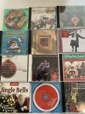 Christmas CD Lot of 12 Holiday Music CDs Carols Various Collections Discs