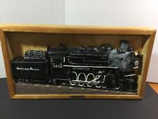 """The Timken Train Wood Carving By Chick Sales. 11""""X 20"""". Folk Art"""