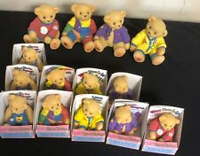 Enesco Cherished Teddies-Lot Of 14-10 Toybox Teddies And 4 Banks-Rubber,Plastic