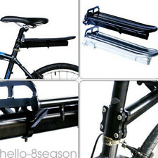 UK Mount Bike Bicycle Rear Rack Seat Luggage Carrier Post Mount Pannier Aluminum